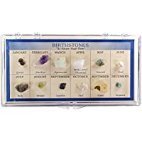 Fantasia Boxed Collection: Natural Birthstone Collection In Presentation Case Set #5 As Nature Made Them Educational...