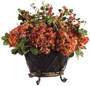 """Uttermost English Autumn Floral Bouquet 25.5 x 27.5 x 21.25"""""""