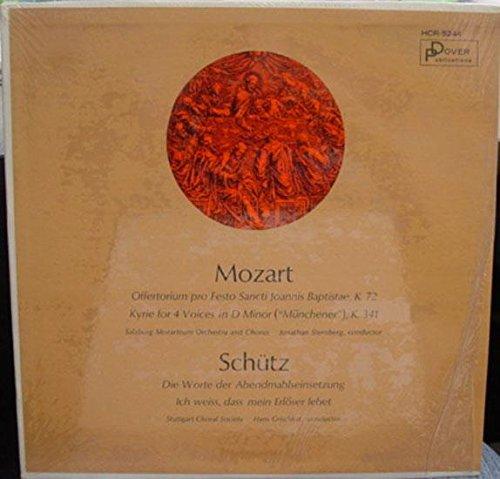Sternberg & Grischkat Mozart Schutz Lp Mint- Hcr 5244 Vinyl 1965 Dover Mono