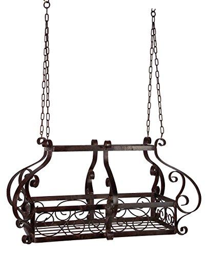 Imax 8570 Scrolled Iron Calatrava Hanging Pot Rack