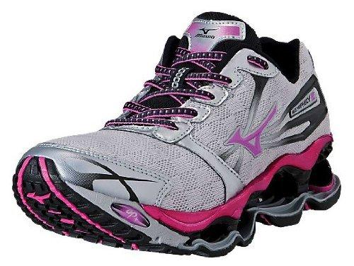 Mizuno Women's Wave Prophecy 2 Running Shoe,Pink,8 B US