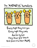 Edward Monkton - Madness Hamsters Fine Art print