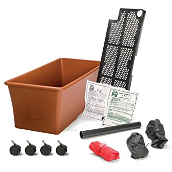 Novelty 80155 Earthbox Organic Garden Kit, Terra Cotta