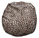 Bean Bag Boys Leopard Bean Bag Chair Suede-Leopard