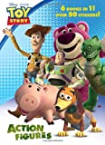 Action Figures (Disney/Pixar Toy Story 3) (Jumbo Coloring Book)
