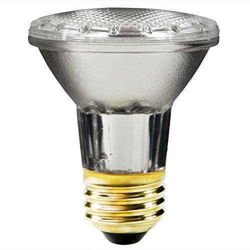 Satco S2231 39 Watt (50 Watt) 530 Lumens PAR20 Halogen Narrow Spot 10 Degrees Clear Light Bulb, Dimmable (Xenon Bulbs 50w compare prices)