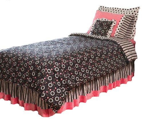Thank You Baby 4 Piece Full Comforter Set, Madison Girl