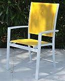 Unbekannt papillon-chaise-Garten Aluminium/TEXT. Sunset APIL. AMARIL
