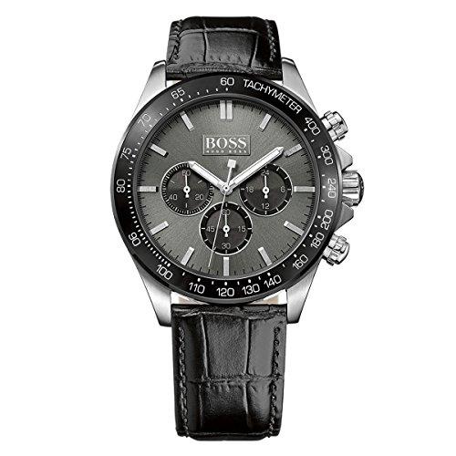 Hugo Boss Uomo Men's Chronograph Analog Dress Di quarzo Reloj 1513177