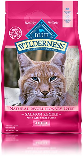 Blue Buffalo Wilderness Duck Recipe Adult Cat Food  Lbs