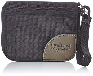Overland Equipment Wallet (Black/Dusty Blue, Small)