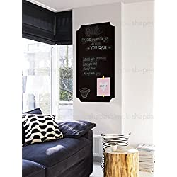 "Chalkboard Wall Decal, Elegant Style - 23"" x 48""- by Simple Shapes"