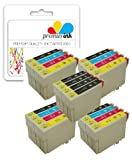 Premier Ink T1285 / E1285 - 20 Compatible Printer Ink Cartridges For Epson Stylus Office Bx305F, 305Fw, Epson Stylus S22, Sx130, Sx230, Sx235W, Sx420W, Sx425W, Sx430W, Sx435W, Sx438W, Sx440W, Sx125,Sx445W,