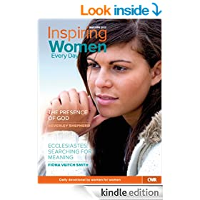 Inspiring Women Every Day Mar-Apr 2013: The presence of God & Ecclesiastes: searching for meaning