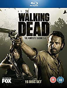 The Walking Dead Seasons 1 4 Blu Ray 2010 Amazon Co