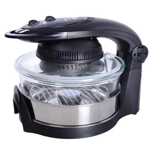 Visicook 12l Crisp Bake Halogen Oven With 3l Extension