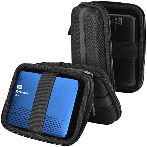 Mediabridge Carrying Case For Portable External Hard Drive - Fits WD My Passport Ultra & Toshiba Canvio Basics