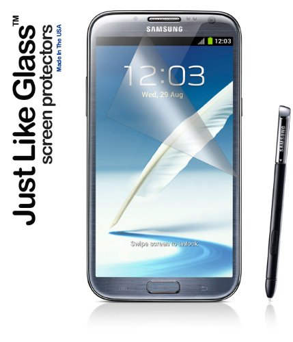 Just Like Glass Screen Protector - Samsung Galaxy Note II Screen Protector