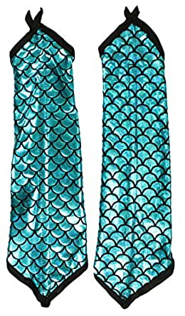 Adult Halloween Costume Accessory - Mermaid Arm Sleeves