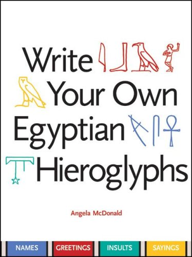 Write Your Own Egyptian Hieroglyphs: Names, Greetings, Insults, Sayings front-998072