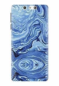 Noise Designer Printed Case / Cover for Lyf Earth 2 / Graffiti & Illustrations / Marble Design