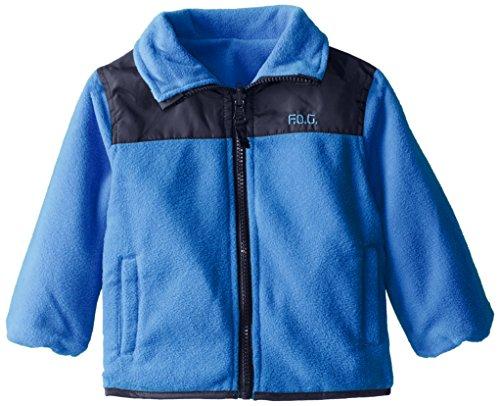 London Fog Baby Boys' Reversible Jacket, Blue, 24