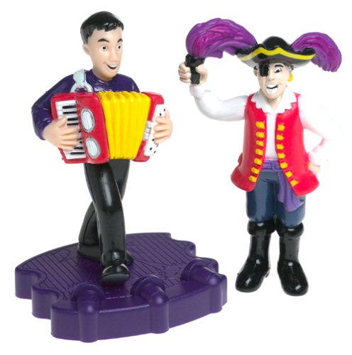 Wiggly Figures - The Wiggles - Jeff  Captain FeatherswordB0000V8XHQ : image