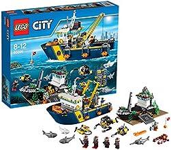 Lego City - 60095 - Jeu De Construction - Le Bateau D'exploration