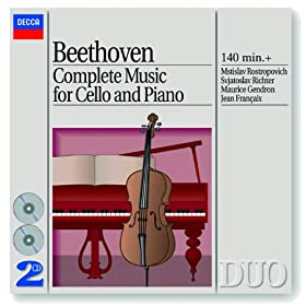 Ludwig van Beethoven: Sonata for Cello and Piano No.4 in C, Op.102 No.1 - 2. Adagio - Tempo d'andante - Allegro vivace