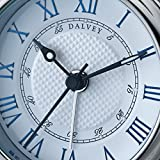 Dalvey Voyager Clock With White Face