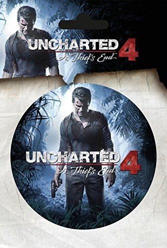 Uncharted - 4, A Thiefs End Sticker Adesivo (15 x 10cm)