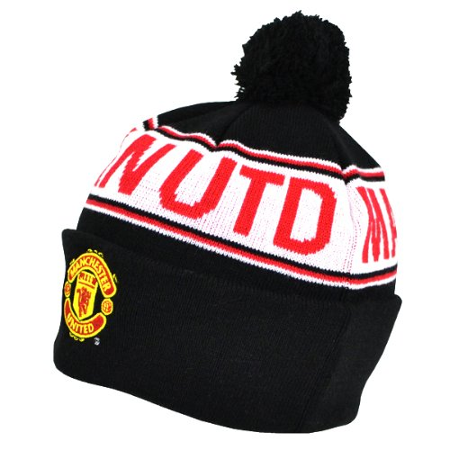 Manchester United FC Knitted Ski Hat (Manchester United Beanie Hat compare prices)