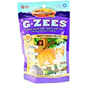 Zuke's G Zees Grain Free Turkey Flavored Glucosamine Cat Treats With Cranberry - 3 Ounces