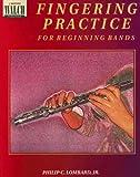 Fingering Practice for Beginning Bands (Blackline Masters, 00-2574x)