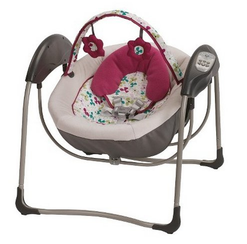 Graco Baby Infant Glider Petite Lx Gliding Swing Pippa No