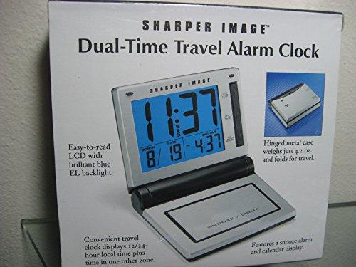 shaper-image-dual-time-travel-alarm-clock