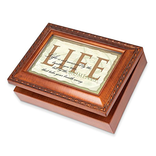 Life's Moments Inspirational Music Musical Jewelry Box Plays What a Wonderful World