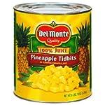 Del Monte Pineapple Tidbits - 106 oz....