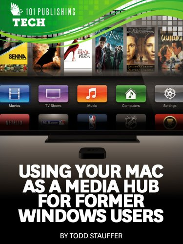 Using Your Mac as a Media Hub for Former Windows Users: Help for PCs and Apple Computers, Laptops, Desktops, iTunes, Windows Media Center, QuickTime, DVD, TV, and the Web (Tech 101 Kindle Book Series)