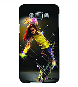 Colourcraft Dance Back Case Cover For Samsung Galaxy Grand 3