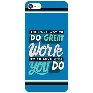 Apple iPhone 5C Back Cover - Great Work Designer Cases
