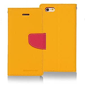 Goospery Fancy Diary Wallet Case for Sony Xperia T2 Ultra -Yellow