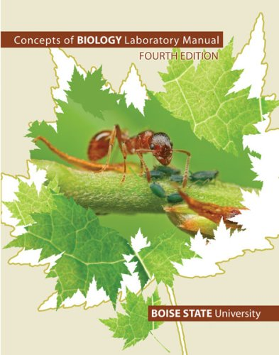 Concepts Of Biology Laboratory Manual