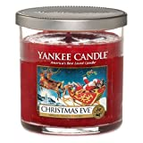Yankee Candle Small Cylinder Jar Candle, Christmas Eve