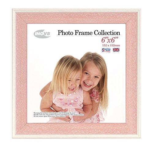 6 x 6 Zoll Austen Wash Bilderrahmen Pink