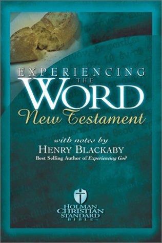 Experiencing the Word New Testament (Holman Christian Standard Bible)