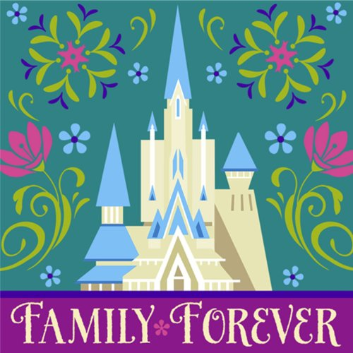 Disney Frozen Beverage Napkins - Birthday Party Supplies - 16 Ct (Pack of 2)