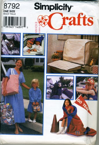 Gift Package Pattern: Car Seat Cover, Crt & Keyboard Cover, Child'S Roll-Up, Large Tote, Lunch Bag, Golf Club Cover, Shoe Bag, Child'S Cap, Stocking Hat, Stadium Blanket front-62951