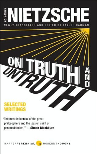 On Truth and Untruth: Selected Writings by Friedrich Nietzsche cover