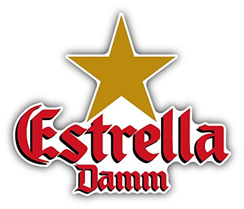 estrella-damm-beer-drink-car-bumper-sticker-decal-12-x-10-cm